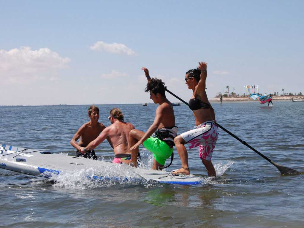 famille paddle