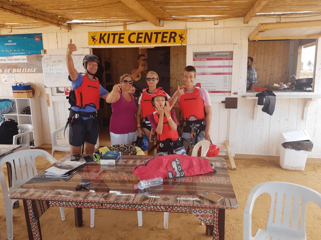 djerba kitesurf : pack-family