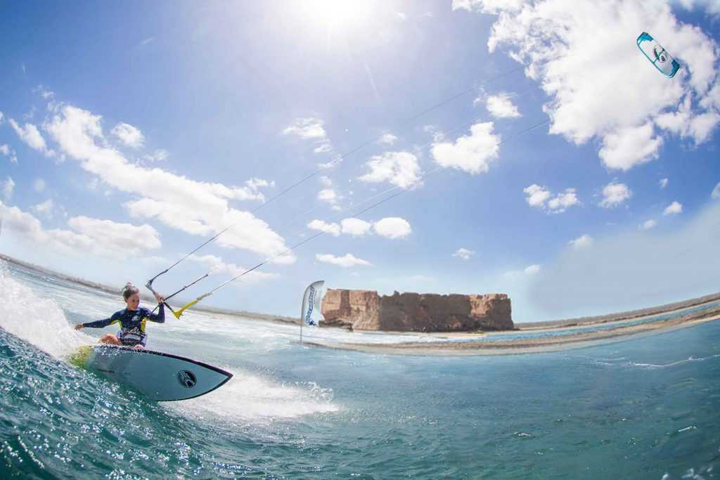 kitesurf Djerba strapless