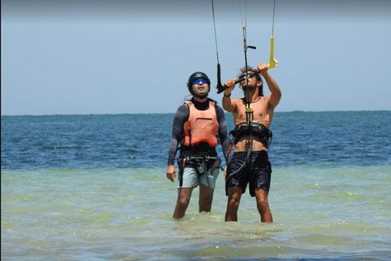 Stage kitesurf privé à Djerba