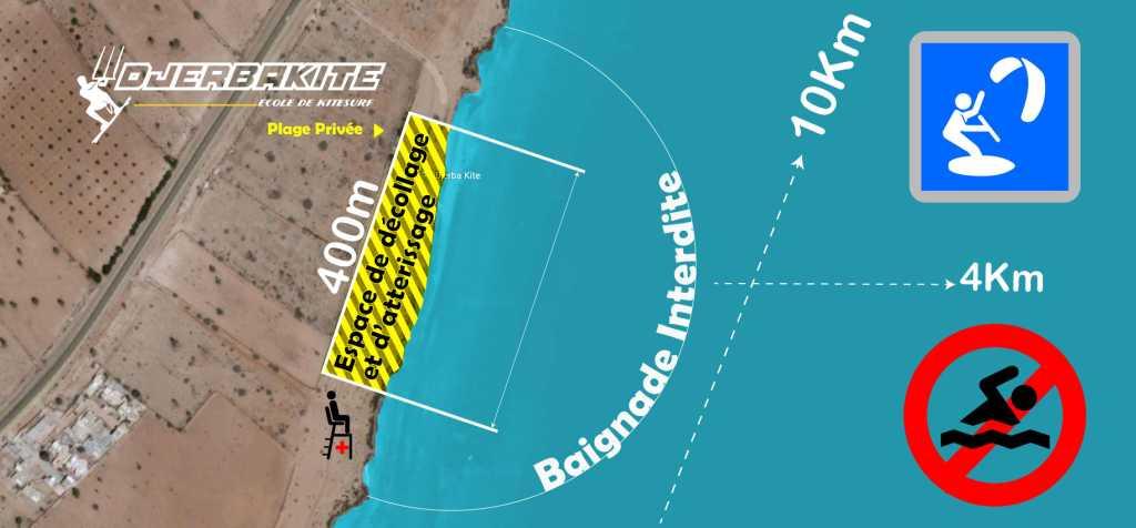 École de kitesurf à Djerba près du Club Med